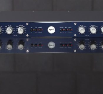 Elysia Xfilter Mastering analog hardware outboard rack audiofader