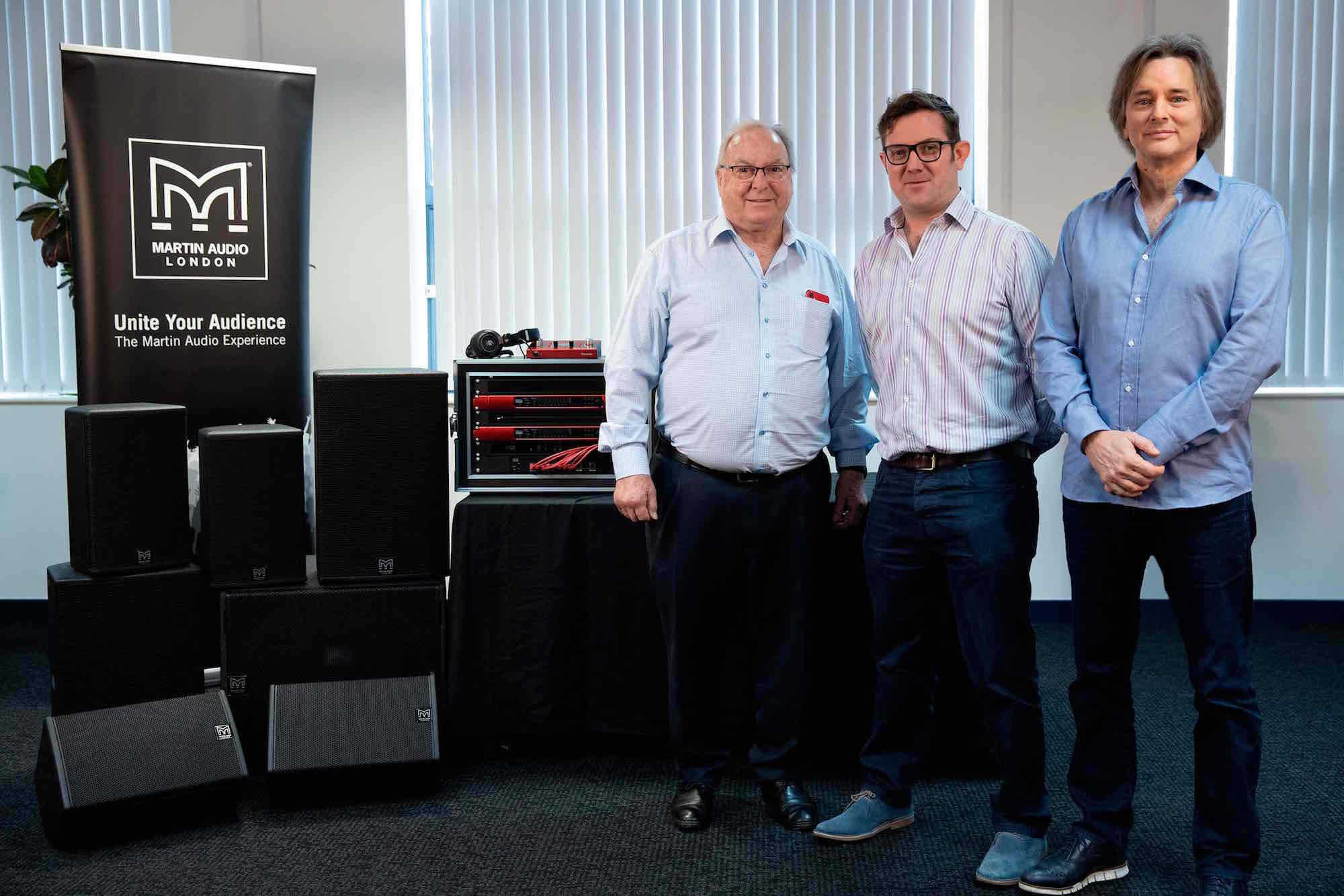 Focusrite Martin Audio pro audio live loudspeaker news audiofader