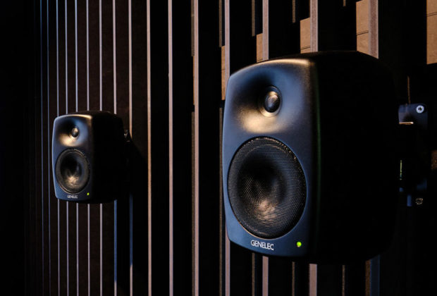 Genelec 4430a monitor audio speaker ip ethernet network midiware studio pro audio audiofader