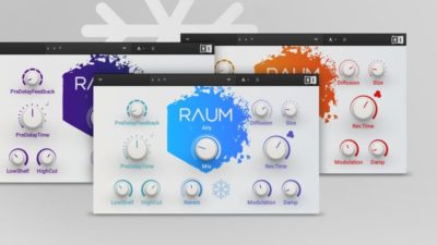 Native Instruments Raum virtual reverb plug-in audio pro daw software audiofader