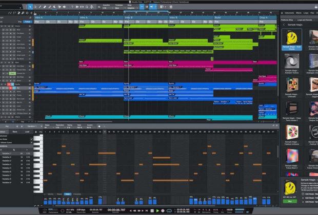 PreSonus ampire Studio One 4.6 update aggiornamento daw software rec studio pro project home mix edit midi music audiofader