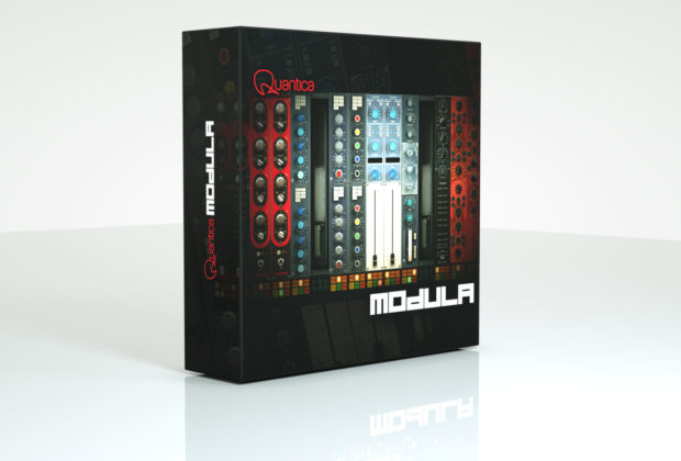 Quantica Modula plug-in audio software daw pro audiofader