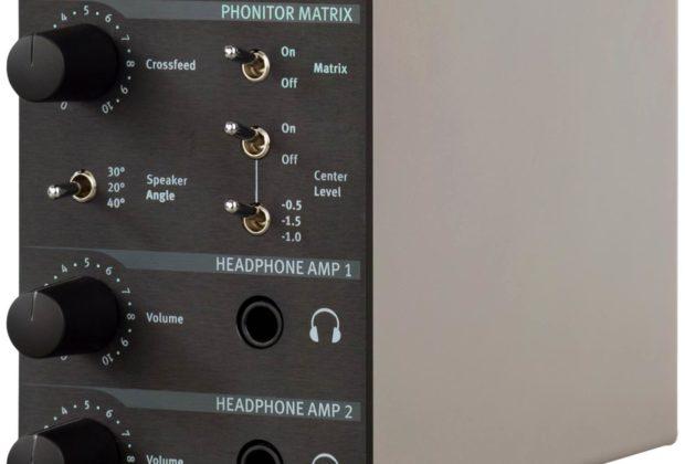SPL HPm rack 500 serie midi music audiofader