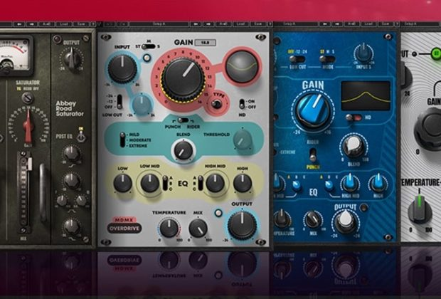 Waves Abbey Road Saturator plug-in audio mix distorsore virtual daw software audiofader