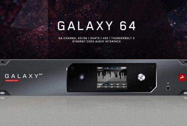 Antelope Audio Galaxy 64 convertitore ad da hardware studio pro audiofader