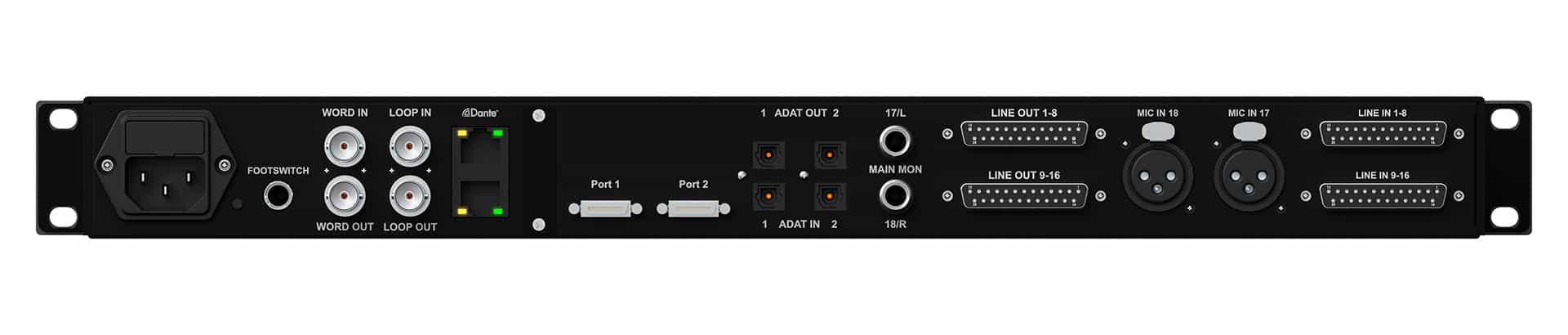 Avid MTRX Studio interfaccia audio pro studio rec mix pro tools audiofader