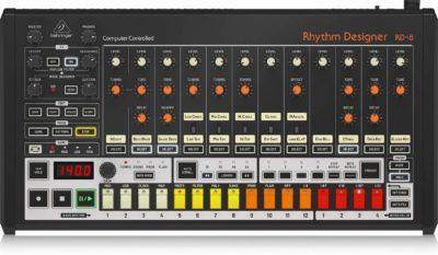 Behringer RD-8 rhythm desinger drum machine drums audiofader test