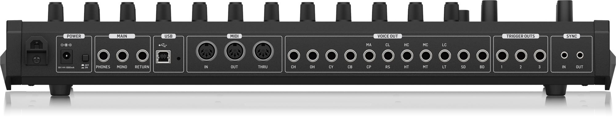 Behringer RD-8 rd 808 recensione review audiofader