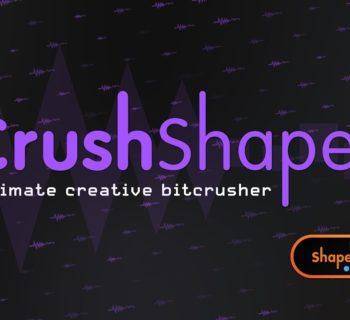 Cableguys CrushShaper lofi distorsore enhancer shaperbox plug-in virtual daw software audiofader
