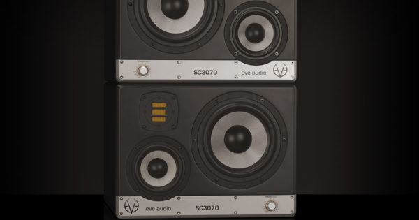 Eve Audio SC3070 hardware monitor mid field speaker audio pro studio mix rec mastering project home soundwave audiofader