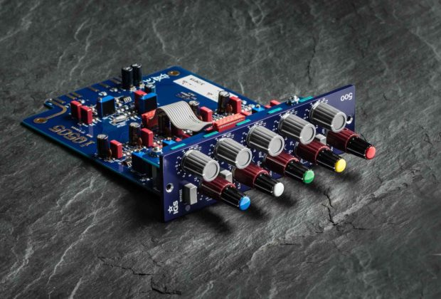 IGS iQ505 eq outboard hardware analog processing studio pro rec mix api 500 rack midiware audiofader