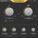 Thicken sonnox vox doubler plug-in audio virtual daw software test audiofader