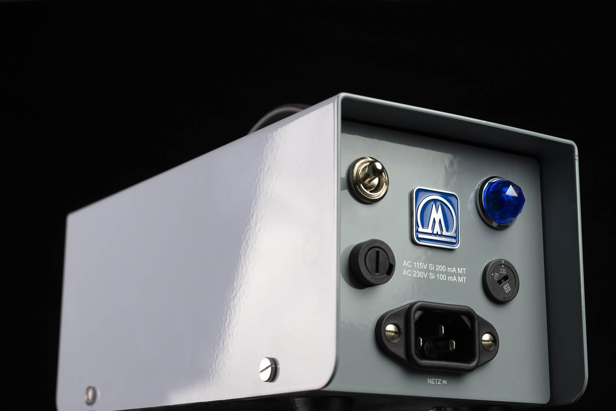 Myburgh M1 mic hardware studio pro rec audio tube valvola audiofader