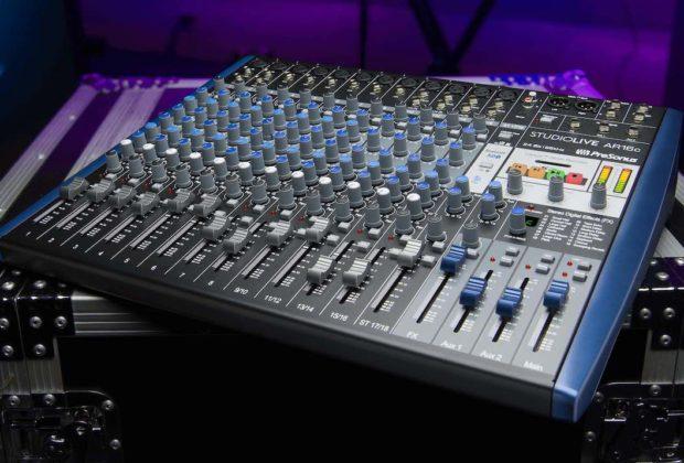 PreSonus StudioLive AR16C mixer live digital midi music strumenti musicali