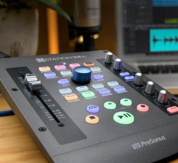 PreSonus ioStation 24c daw controller interfaccia audio hardware midi music audiofader