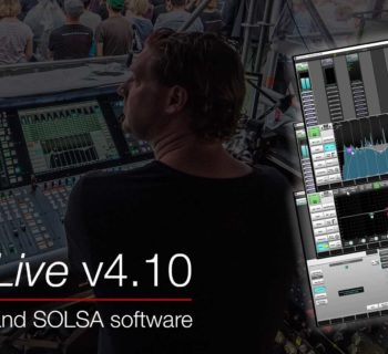 SSL Live v4.10 update aggiornamento software plug-in audio pro virtual mix processing audiofader