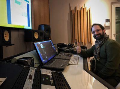 Studio8 pino iodice studio rec mix audiofader