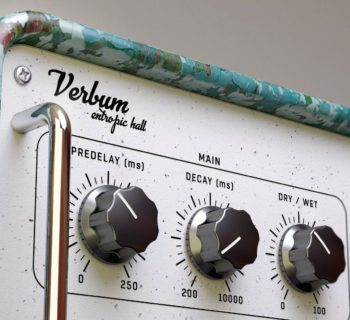 United Plugin Verbum plug-in audio daw software virtual audiofader