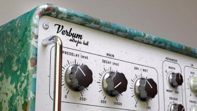United Plugin Verbum plug-in audio daw software virtual audiofader