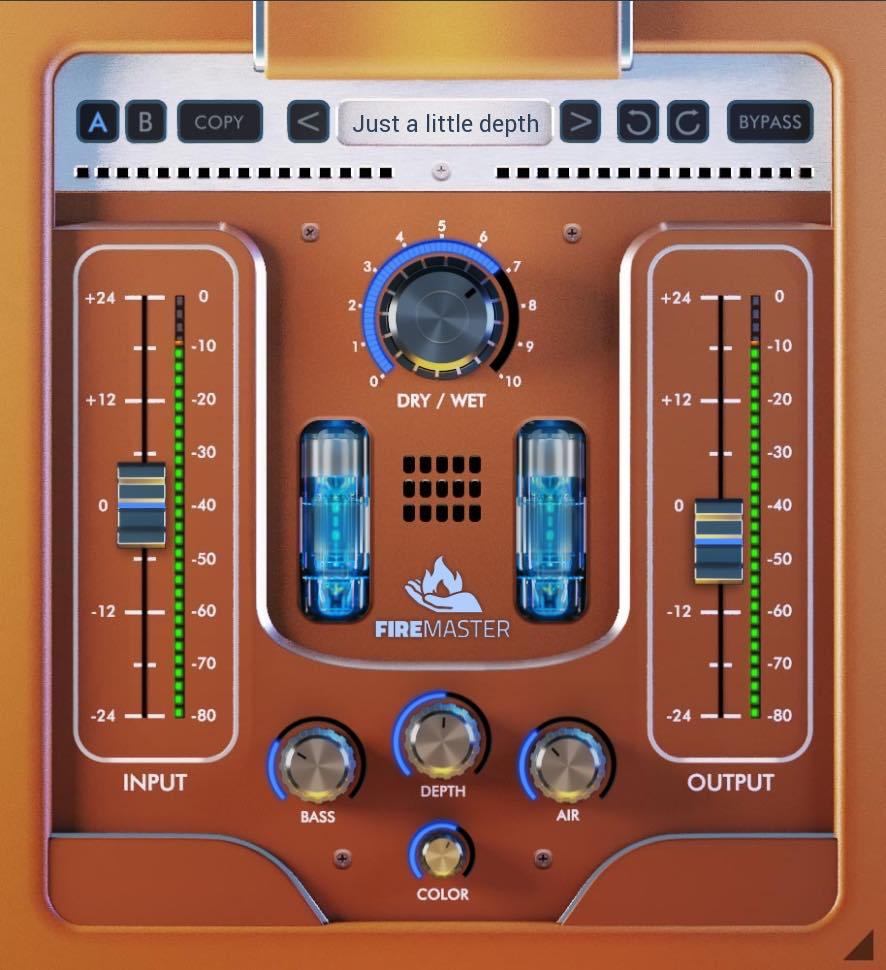 United Plugins FireMaster software daw virtual enhancer plug-in audio pro mix master audiofader