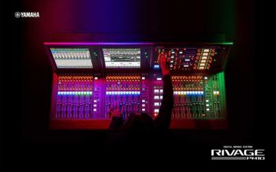 Yamaha L-Acoustics hardware live mix console digital audiofader