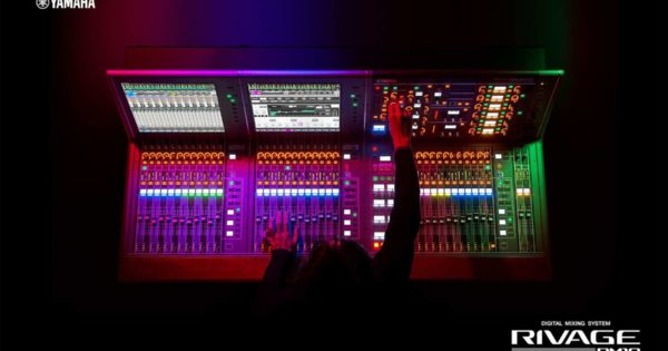 Yamaha L-Acoustics hardware live mix console digital audiofader