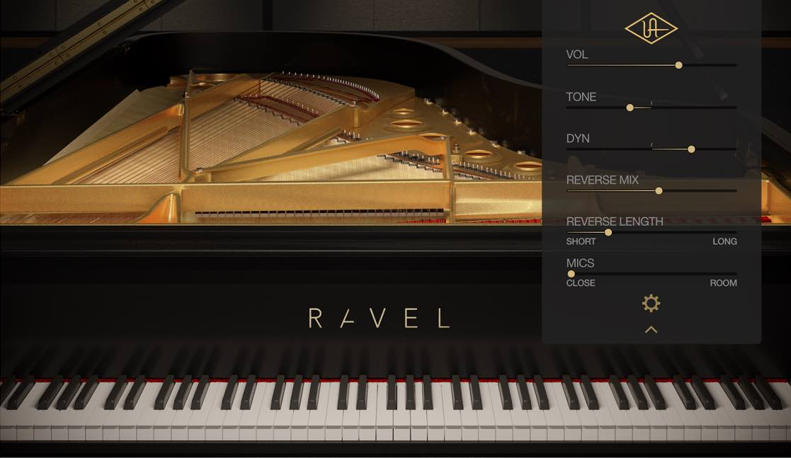 universal audio luna ravel virtual instrument daw software producer audiofader