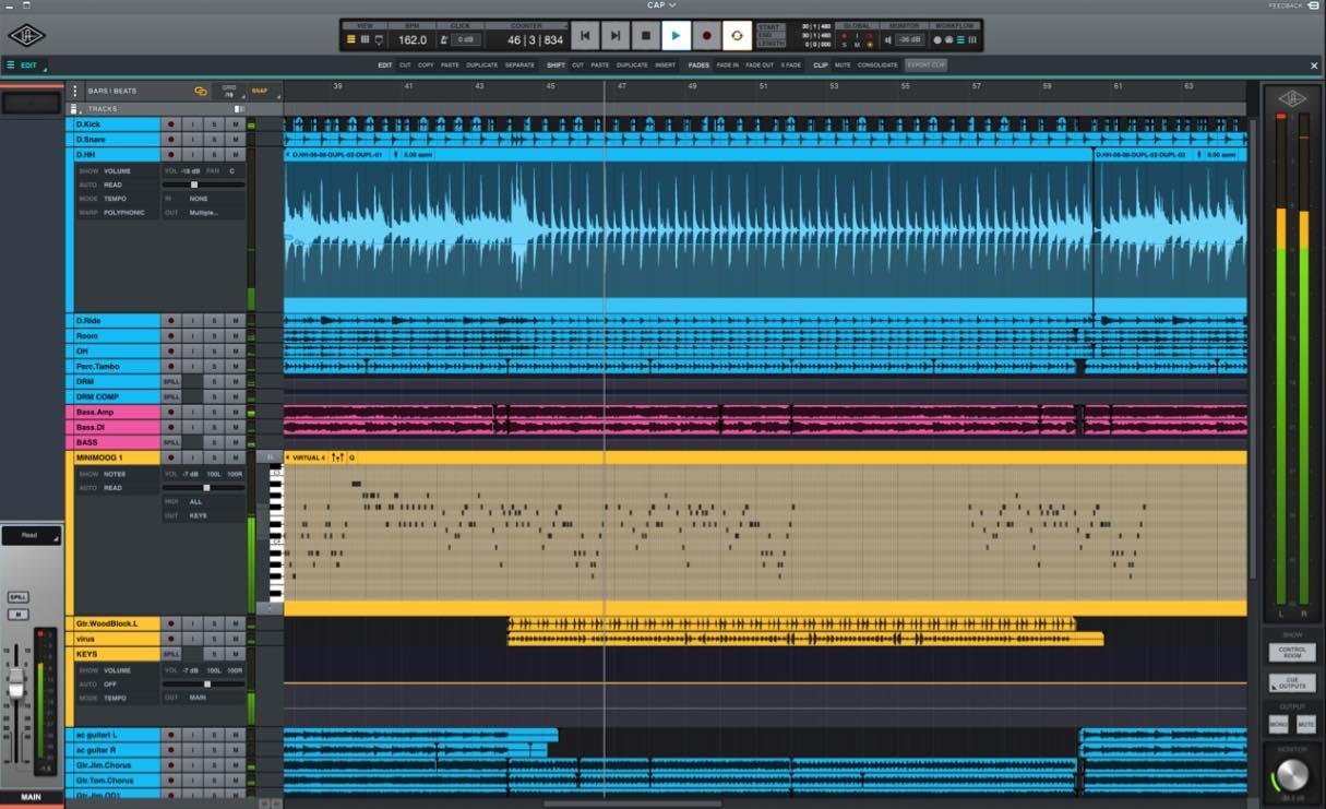 Universal Audio LUNA recensione audiofader
