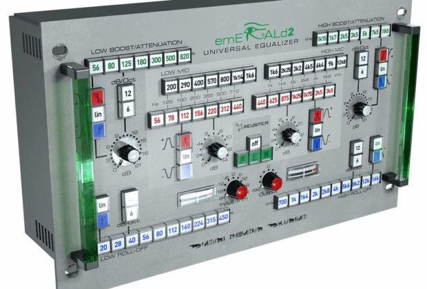 Acustica Audio Emerald 2 plug-in audio pro mix daw software processing itb audiofader