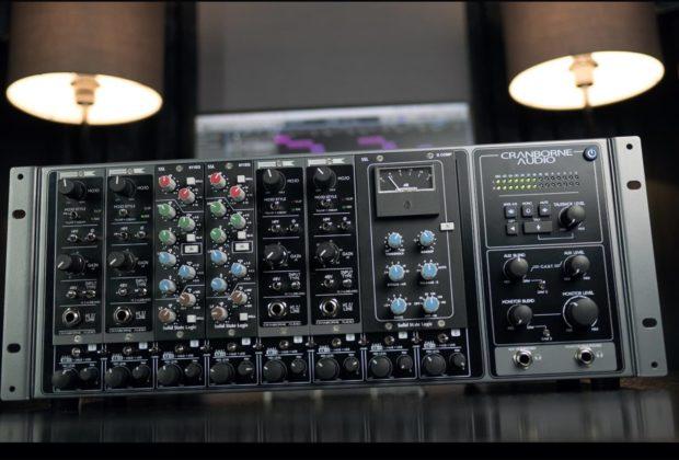 cranborne audio hardware outboard analog studio pro midiware audiofader