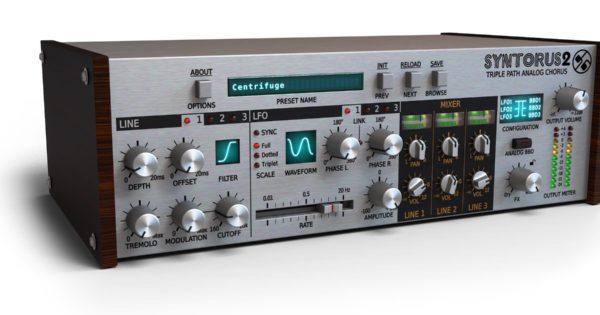 D16 Syntorus 2 plug-in audio chorus fx daw software mix itb virtual audiofader