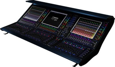 DiGiCo Quantum338 mixer live mix live hardware digital audiolink audiofader