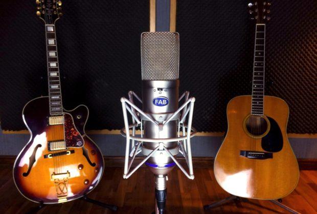 Fab Microphone Fab87 hardware mic condenser studio pro rec audiofader