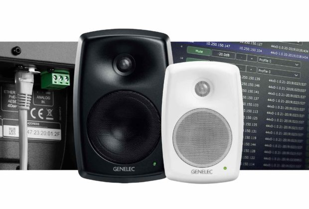 Genelec 4420 4430 Smart IP monitor speaker audio pro midiware audiofader