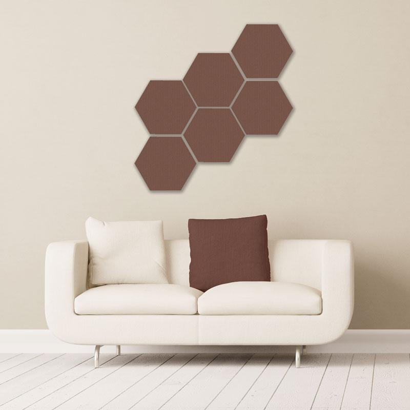 Gik Acoustics DecoShapes Hexagon Acoustic Panels acustica pannelli audiofader