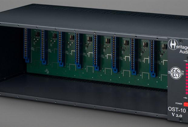 Heritage Audio OST-10 v2 hardware outboard rack 500 midi music audiofader