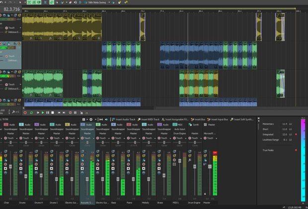 Magix Acid Pro 10 daw software producer artist virtual loop audiofader