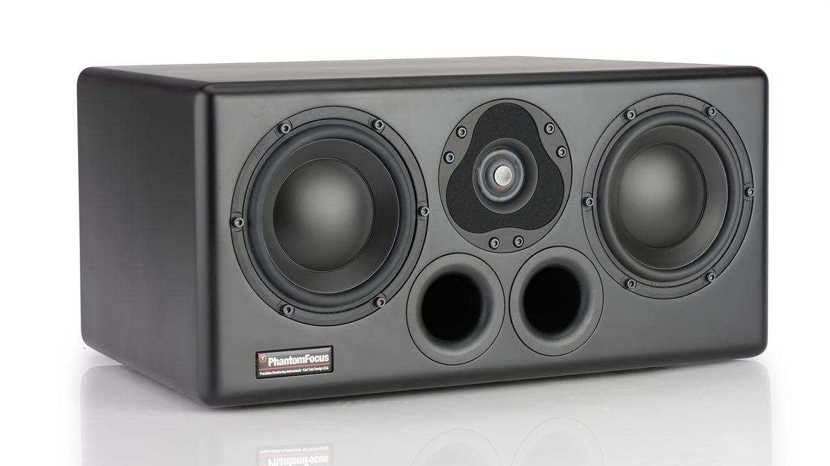 Phantom Focus PFM HD-1000 monitor studio pro near field audiofader