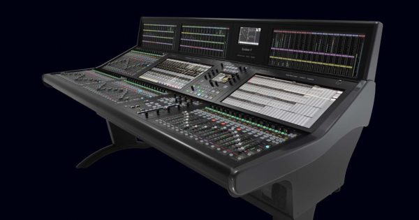 SSL System T v2.3 update aggiornamento broadcast audiofader