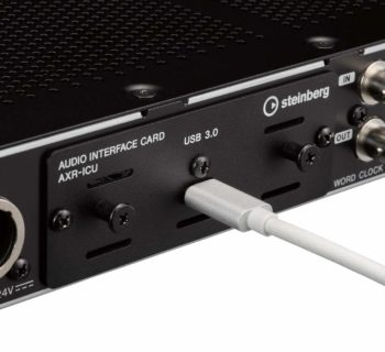 Steinberg AXR4U interfaccia audio hardware studio recording audiofader