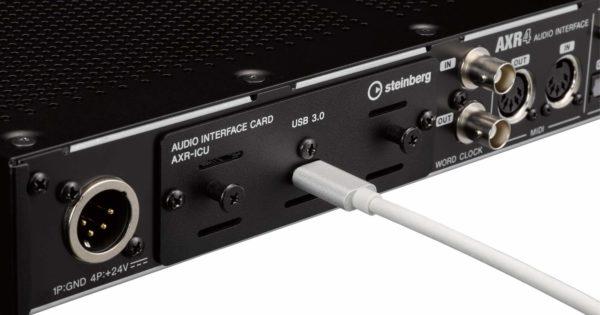 Steinberg AXR4U interfaccia audio hardware studio recording audiofader