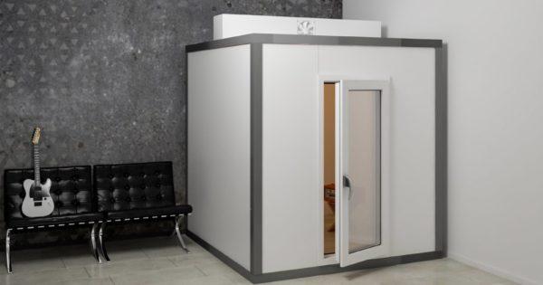 The Temple boxinsonorizzato acustica studio pro rec mix audiofader