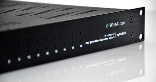 WesAudio ng Leveler hardware studio pro processing audiofader