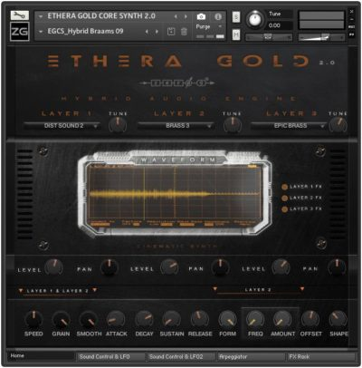 Zero-G Ethera Gold 2 virtual instrument sample library stefano maccarelli audiofader