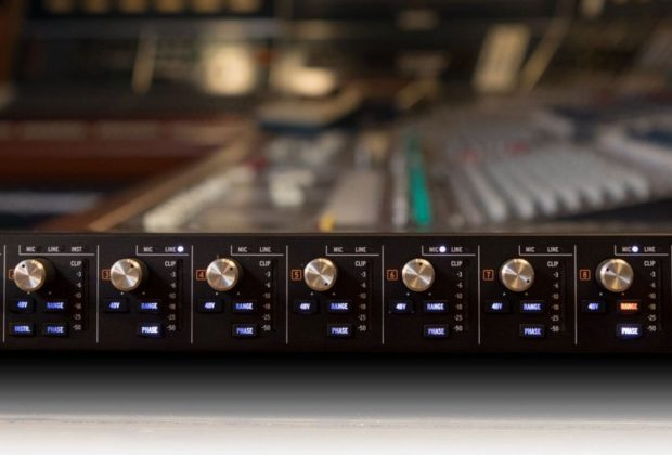 Arturia AudioFuse 8pre hardware interfaccia audio outboard rack rec studio pro project home midiware test audiofader