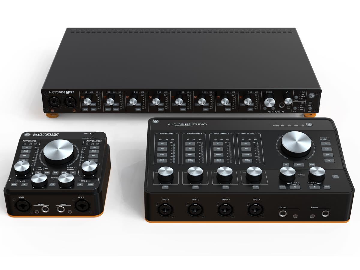 Arturia AudioFuse 8pre hardware interfaccia audio outboard rack rec studio pro project home midiware test audiofader