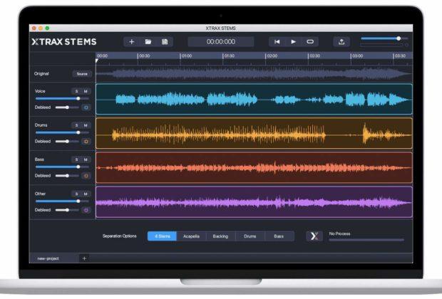 Audionamix XTrax Stems mix software daw audiofader