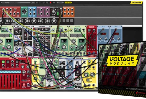 Cherry Audio Voltage Modular synth virtual soft audiofader