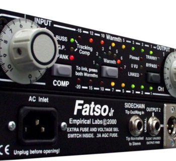 Empirical Labs EL7 Fatso Jr hardware outboard analog studio pro rec mix test audiofader