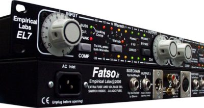 Empirical Labs EL7 Fatso Jr hardware outboard analog studio pro rec mix test audiofader